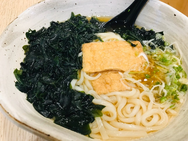 Inaniwa Udon With Kitsune