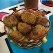 Deep Fried Mushrooms with Fries