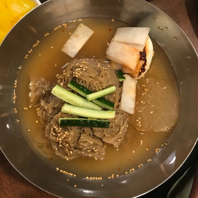 Naengmyeon (Cold Noodles)