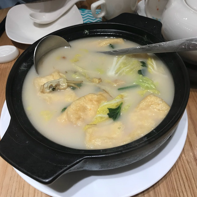 Braised Bean Curd with Chinese Cabbage