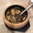 Claypot Frog Leg with Scallion Ginger Sliced 瓦煲姜蒜田鸡