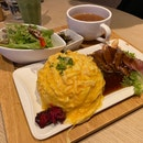 Omu Beef Steak Plate