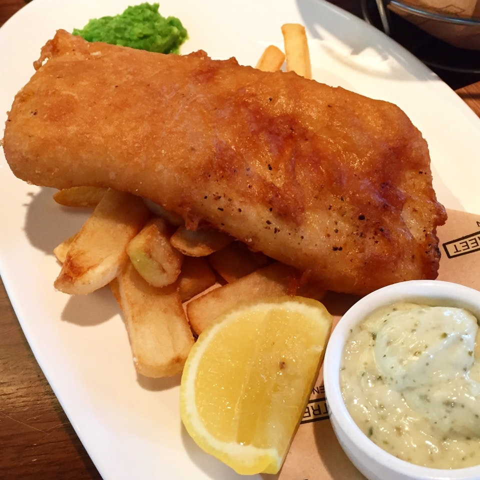 Gordon's Famed Fish And Chips