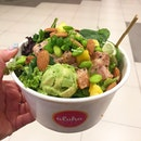 I managed to get my salad craving fixed at Aloha Poké, conveniently located in Bugis Junction.