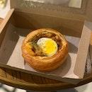 Laksa Croissant Bowl