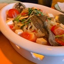 Teochew Style Steamed Whole Seabass ($36)