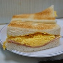 Egg Ham Toasted Sandwich
