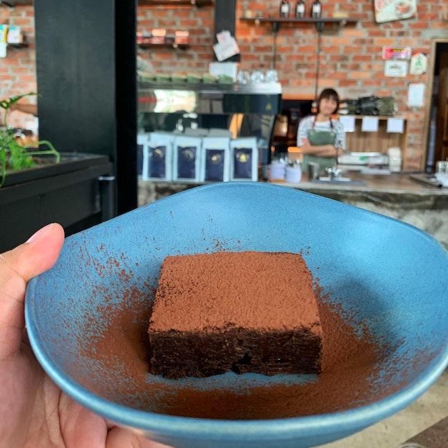 Dark Chocolate Fudgey Brownie