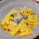 Spinach Ricotta Ravioli ($24)