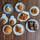 Croissants, Cruffins, Pastries And Scones