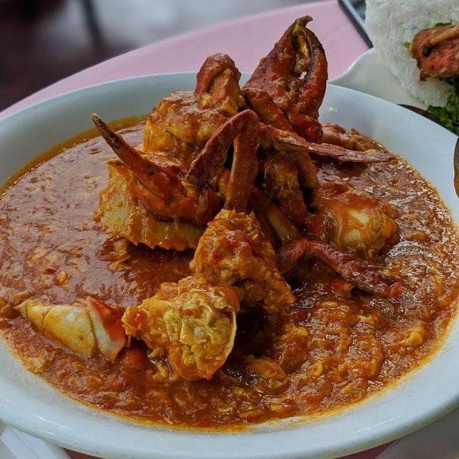 Crab In Chilli And Tomato Sauce