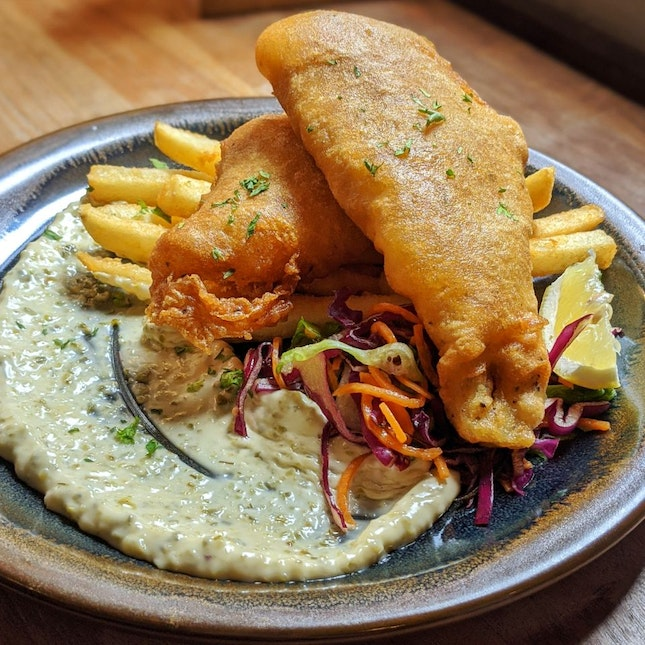 Cod Fish And Chips ($18.90)