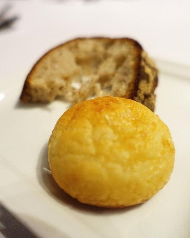 Gluten free cheese bun which was so good.