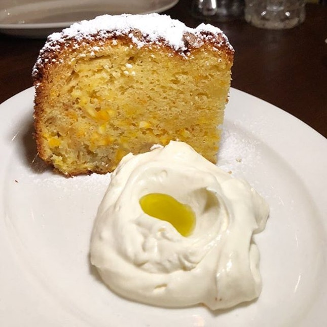 When asked which is his favourite dessert, Chef David said the Olive Oil cake.