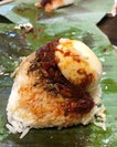 Nasi lemak bungkus, just the way I like it.