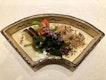 Seasonal vegetables to accompany our sashimi course.