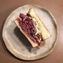 No matter how many times I've had this, it's still love at first bite for this beef tongue and gribiche sammy.