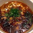 香辣牛腩米線  $13.80