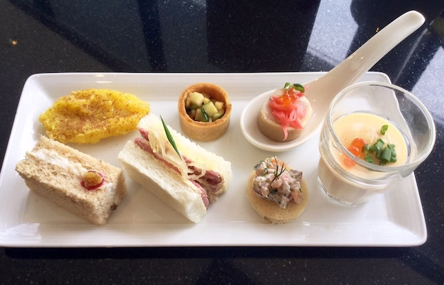 Durian Themed Afternoon Tea  $42