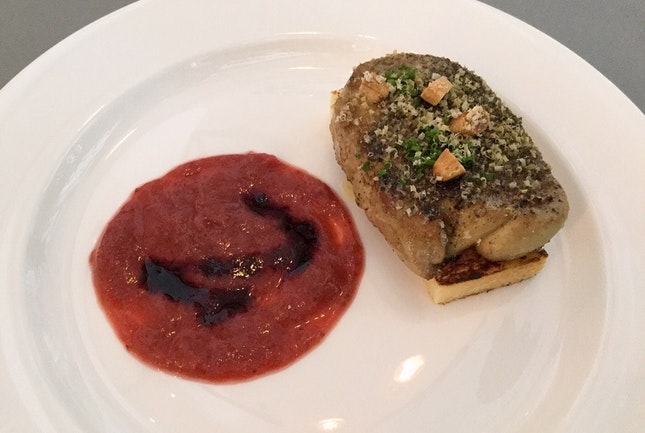 Pepper Crusted Foie Gras  $26