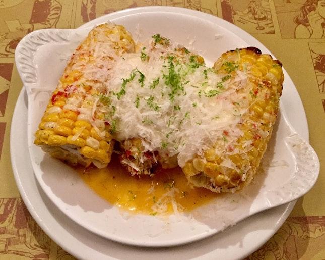 Corn al forno, pickled chili butter & crème fraîche aioli  $18