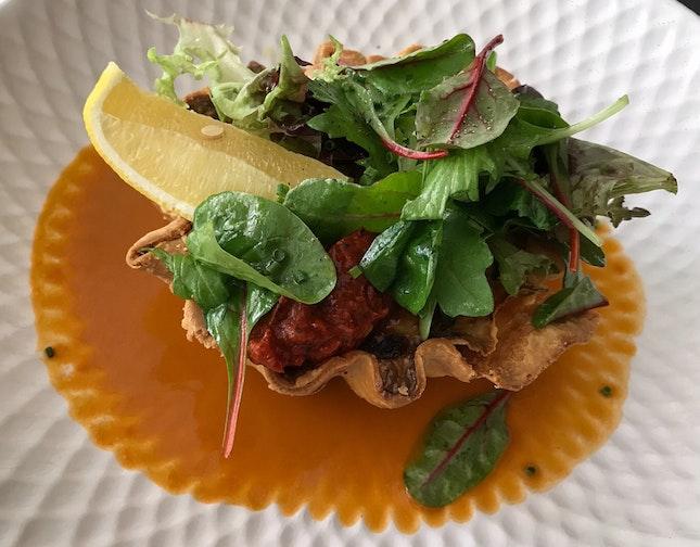 Crab Tart  $32