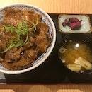 特上鹿児島豚丼  $22.80