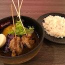 串燒きチキンスープカレー  $13.80