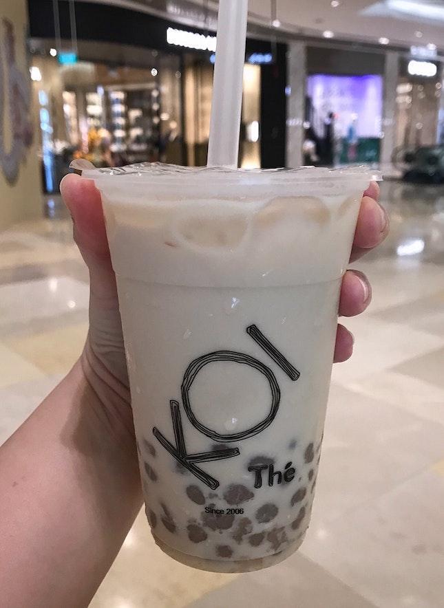 芋圓奶茶  $4.10