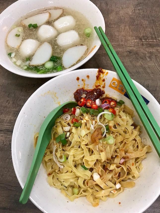 魚圓麵  $3