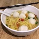 魚圓麵湯  $5.50