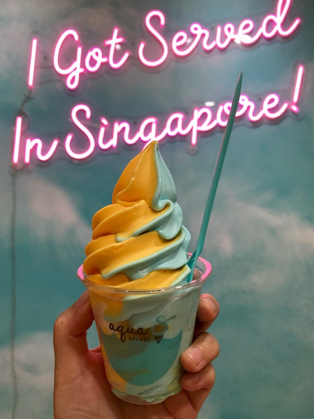Mandarin x Sea Salt Soft Serve  $5.40