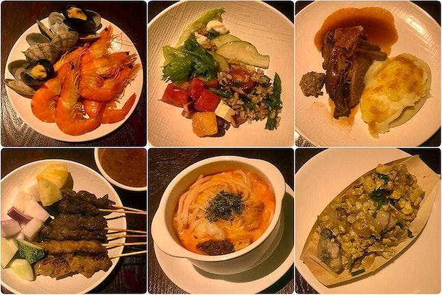 International & Singapore Flavors