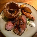 Traditional Sunday Roast - Angus Striploin  $45