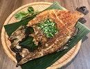 傣味香茅草烤鱸魚  $22.90