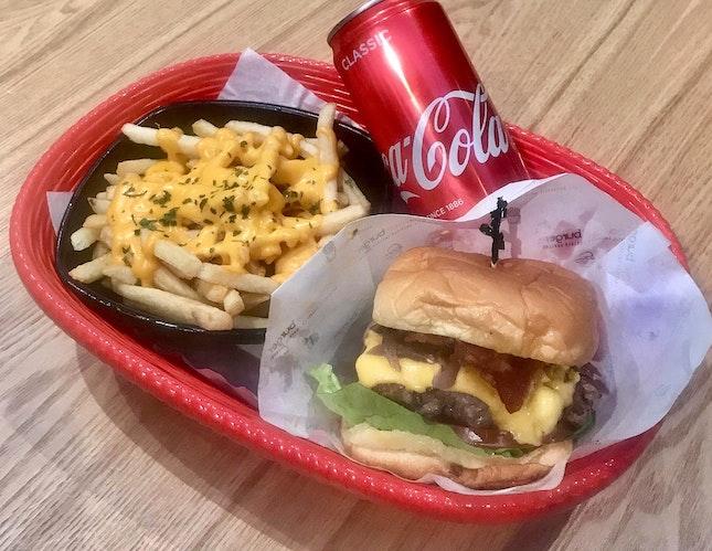 Ultimate Cheeseburger Omakase Set  $23.50