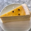 Passion Fruit Mille Crêpes  $9.50