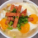 三蛋餐肉通粉  $7.10 (U.P. $8.90)