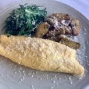 Soft Omelet with Wild Mushrooms  $28