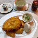 Fried Fillet of English Turbot  $98