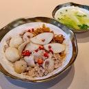 魚圓肉脞麵  $5.50