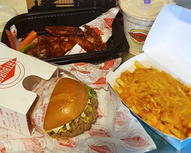 Burgers • Sandwiches