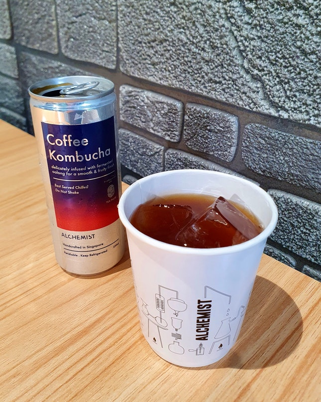 Coffee Kombucha  $6.50