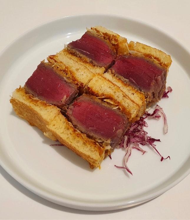 Beef Katsu Sando  $32