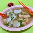 魚片湯+魚卵  $9