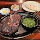 Woodfire Grilled Ribeye Steak  $68