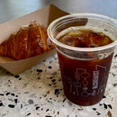 Iced Pourover $7   Butter Croissant $4