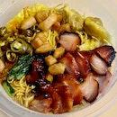 雲吞麵 (大)  $7.30