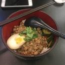 Braised Pork Rice (卤肉饭) ($7)