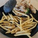 Mentaiko Soft Shell Crab Burger ($20.90)